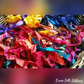 Sari Silk Ribbon - Loose
